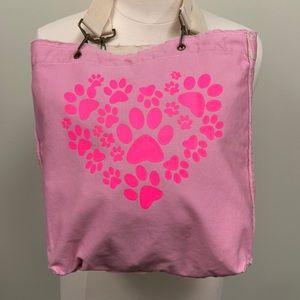 Handbags - NWT Cute Canvas Tote Bag